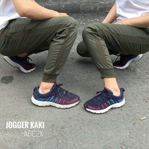 jogger kaki xanh linh