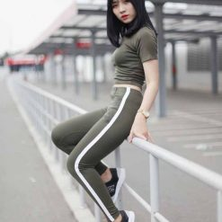 legging lung lien velvet